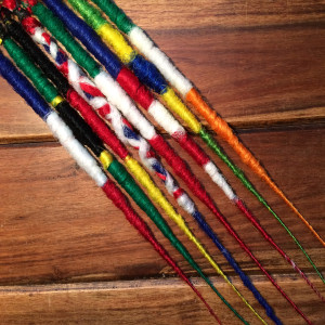 Flag Dreadlocks on Etsy