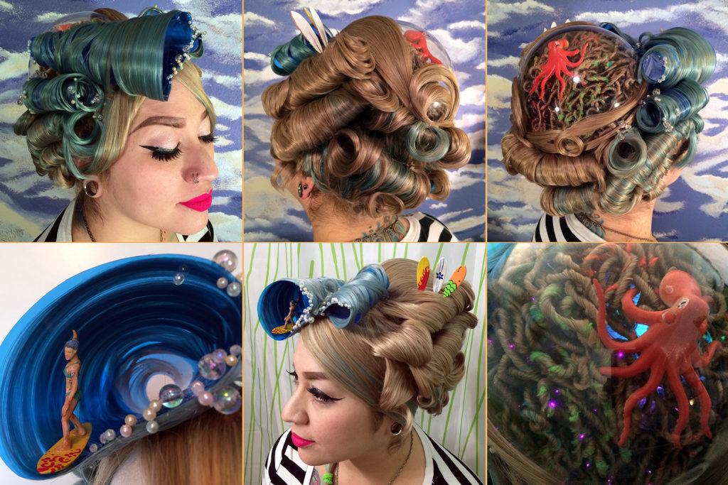 California Dreaming Wig by Katie Bair